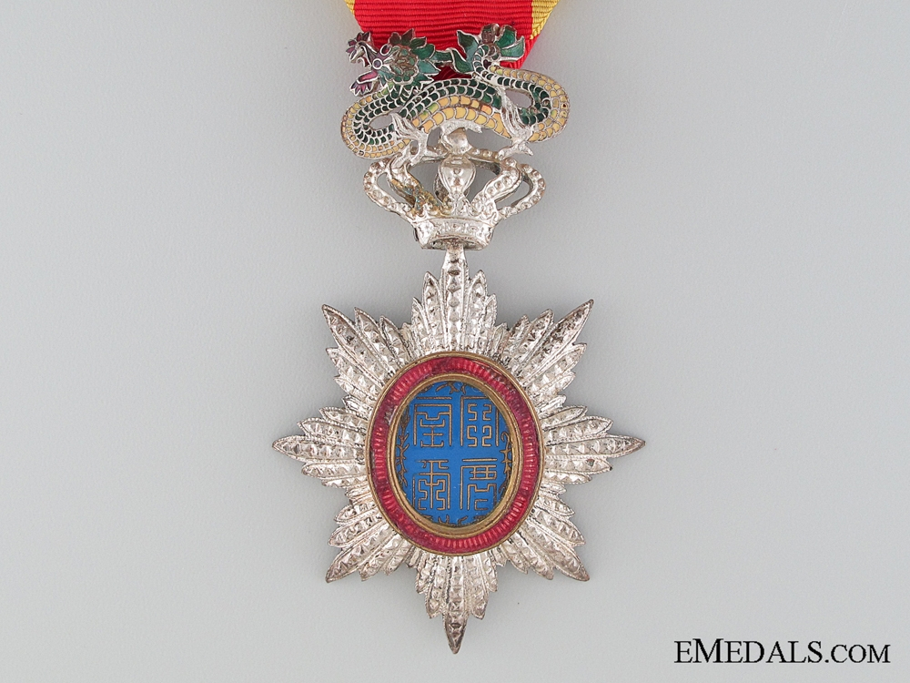 The Order of the Dragon of Annam; Knight