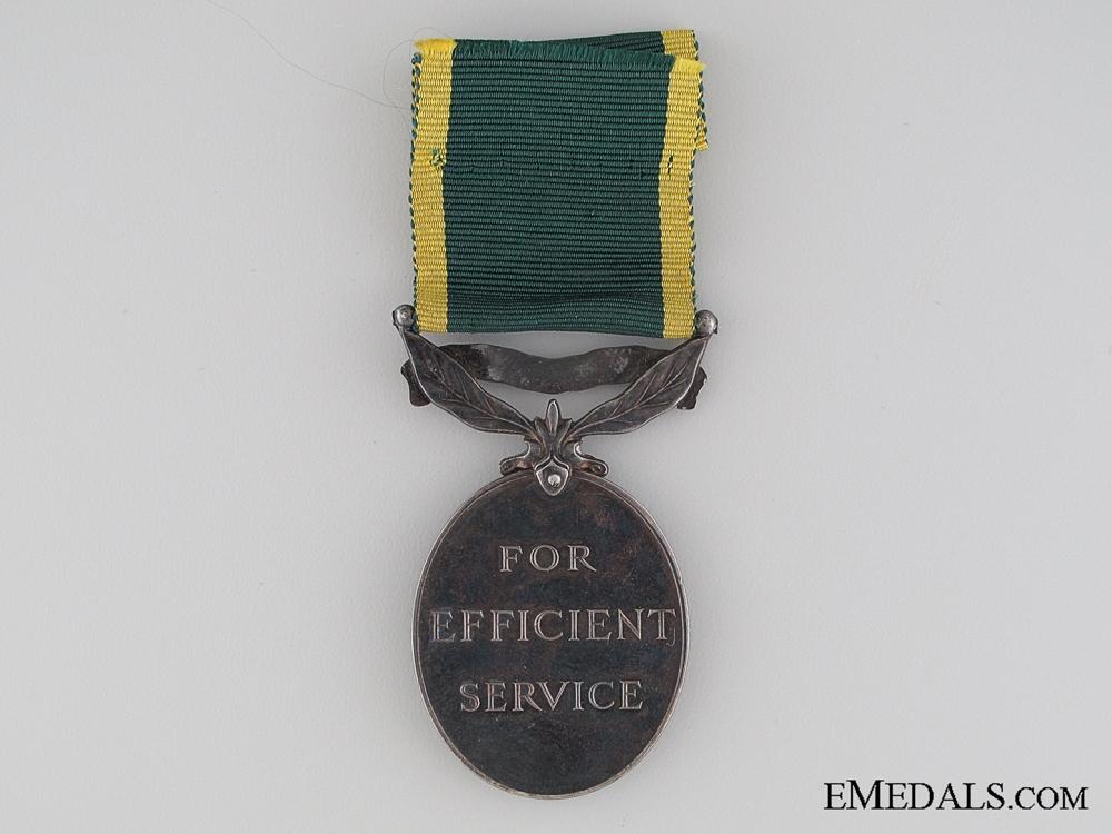 Efficiency Medal to the Royal Engineers