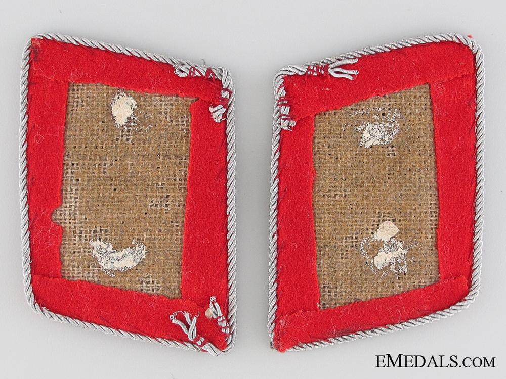 Flak Artillery Oberstleutnant's Collar Tabs