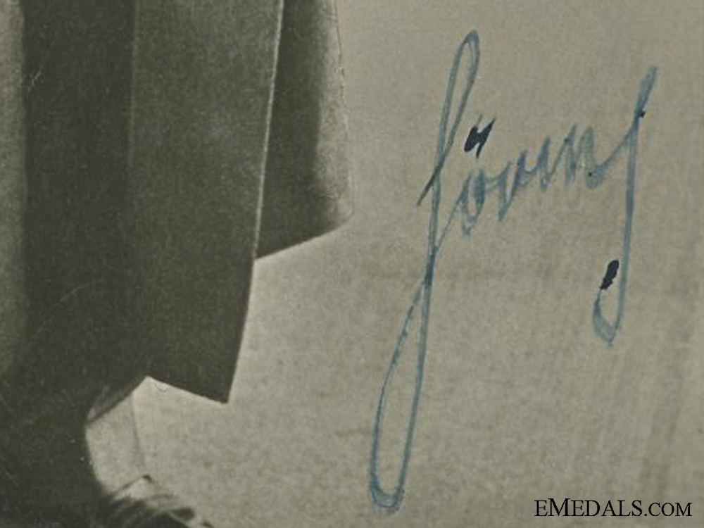 An Early 1933 Hermann Göring Signature
