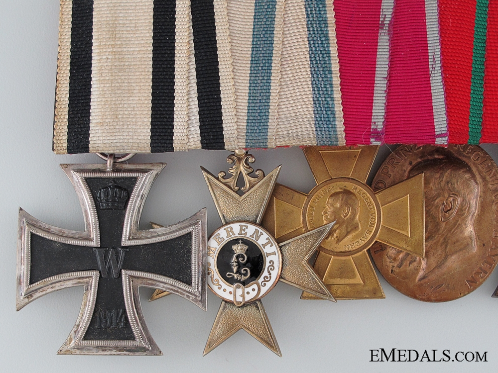 A First War Non-Combatant Bavarian Medal Bar