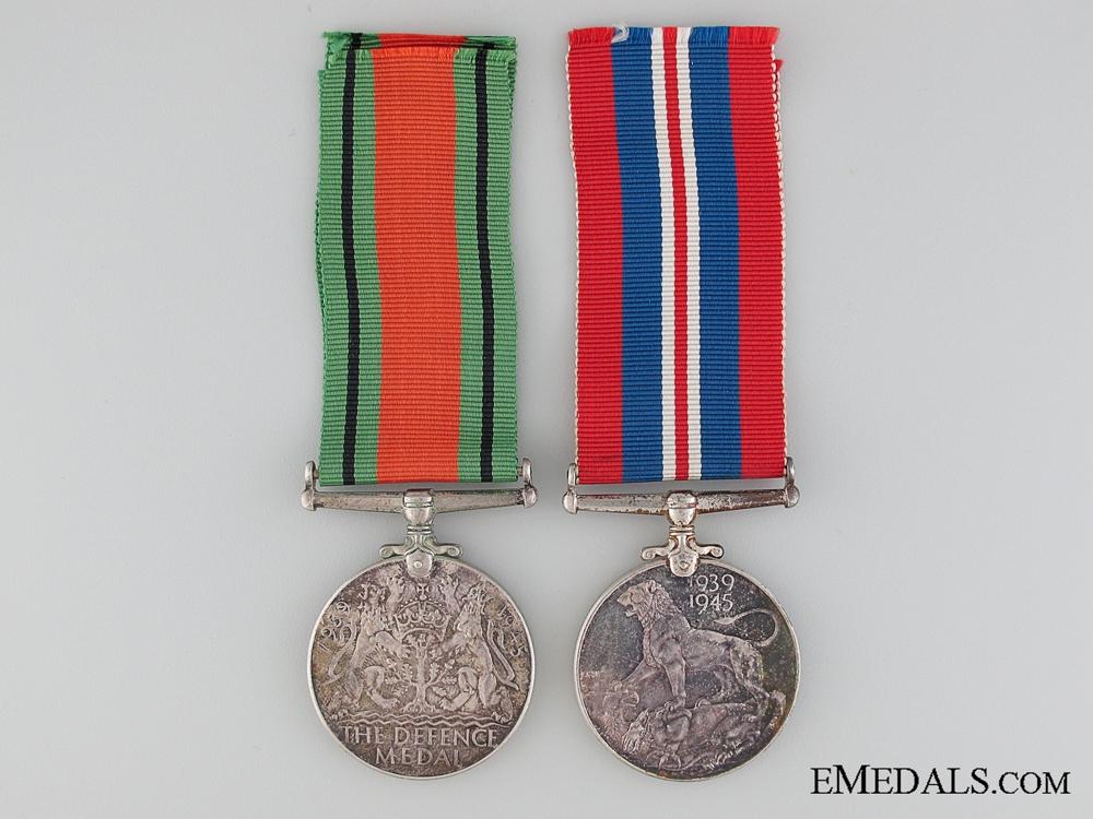 A Second War Canadian Pair