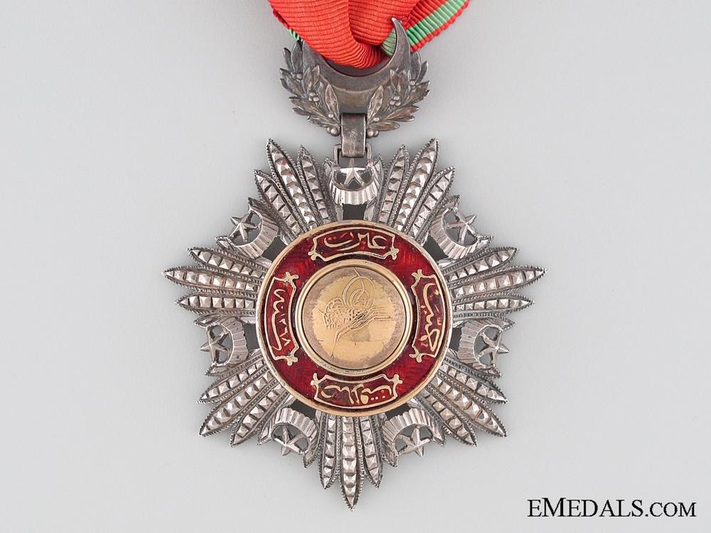 The Order of Mejidie (Mecidiye); Third Class