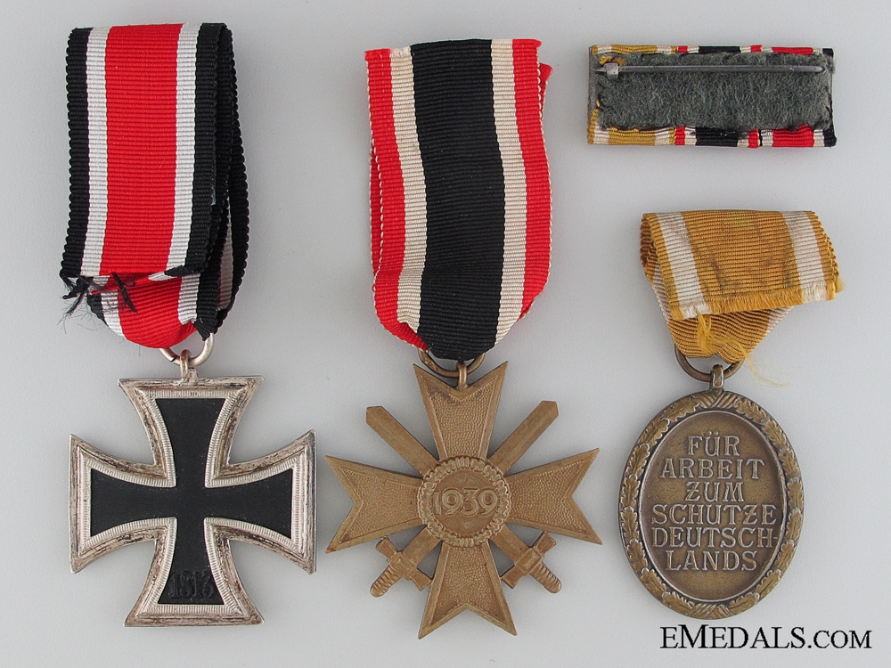 A WWII German Group of Three Awards