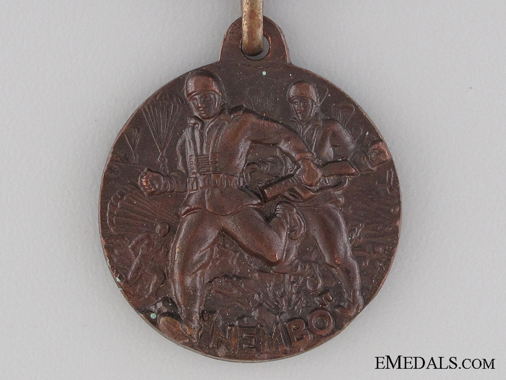 A Rare Italian Paratroopers (NEMBO) Medal
