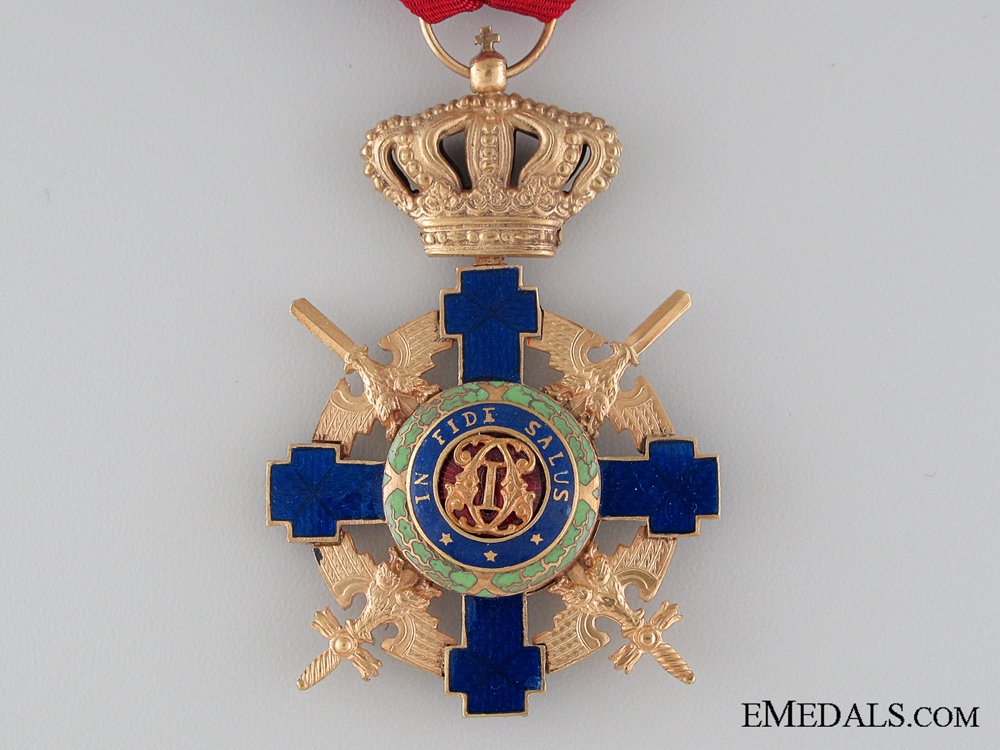 The Order of the Star of Romania; Officer with Crossed Swords