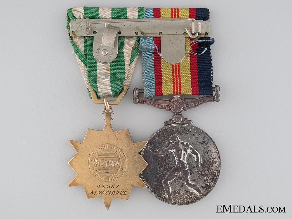 An Australian Vietnam War Pair to M.W. Clarke