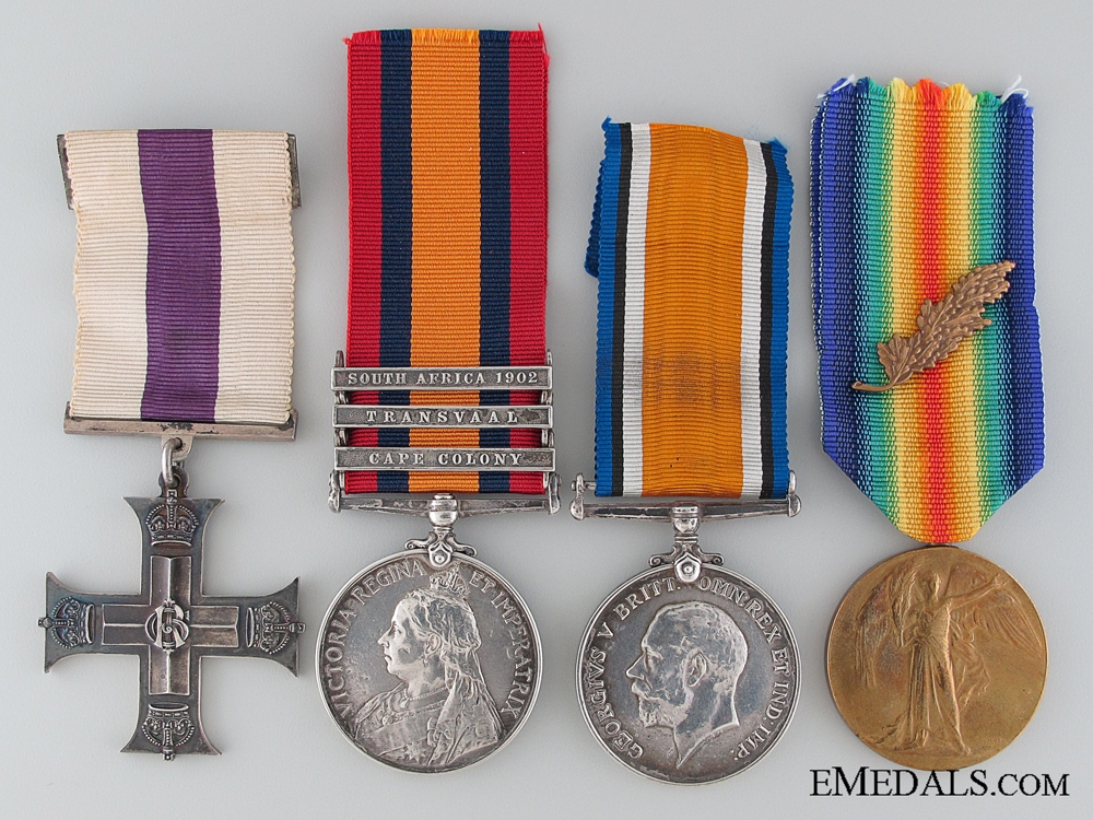 A Canadian Boer War and First War M.C. Officer's Group