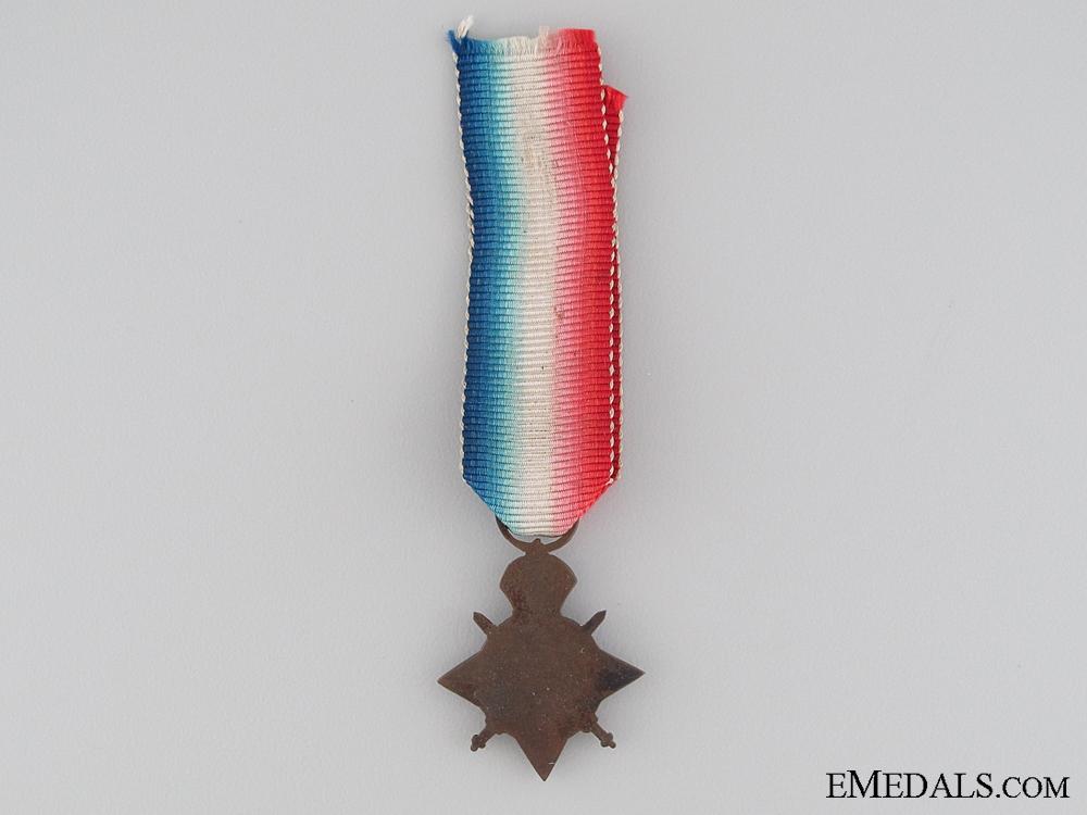 A Period Miniature 1914 Mons Star