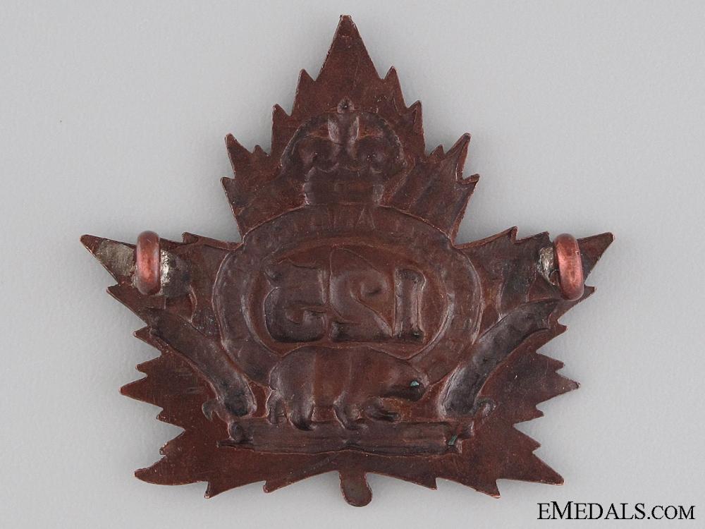 WWI 125th Infantry Battalion Cap Badge CEF