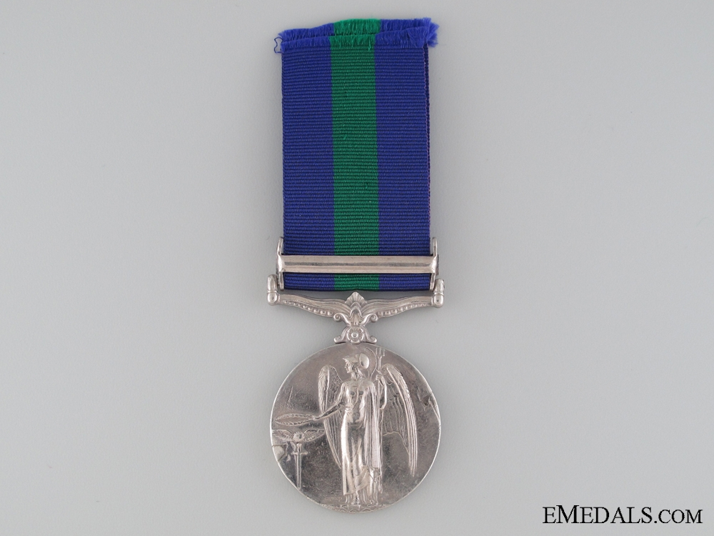 1918-62 General Service Medal to the 96th Infantry