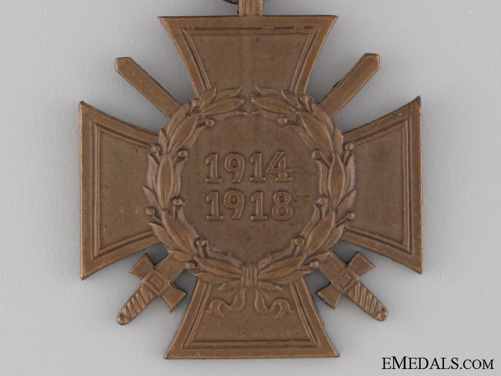 WWI Hindenburg Cross for Combatants
