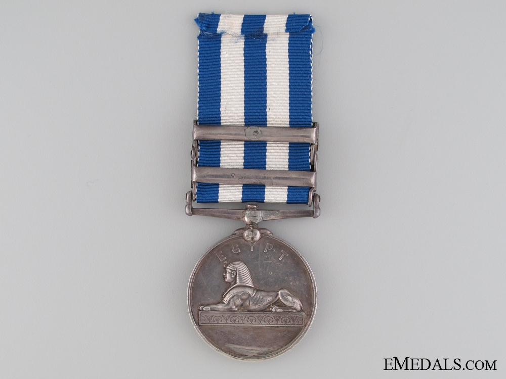 A Two Bar 1882-1889 Eygpt Medal