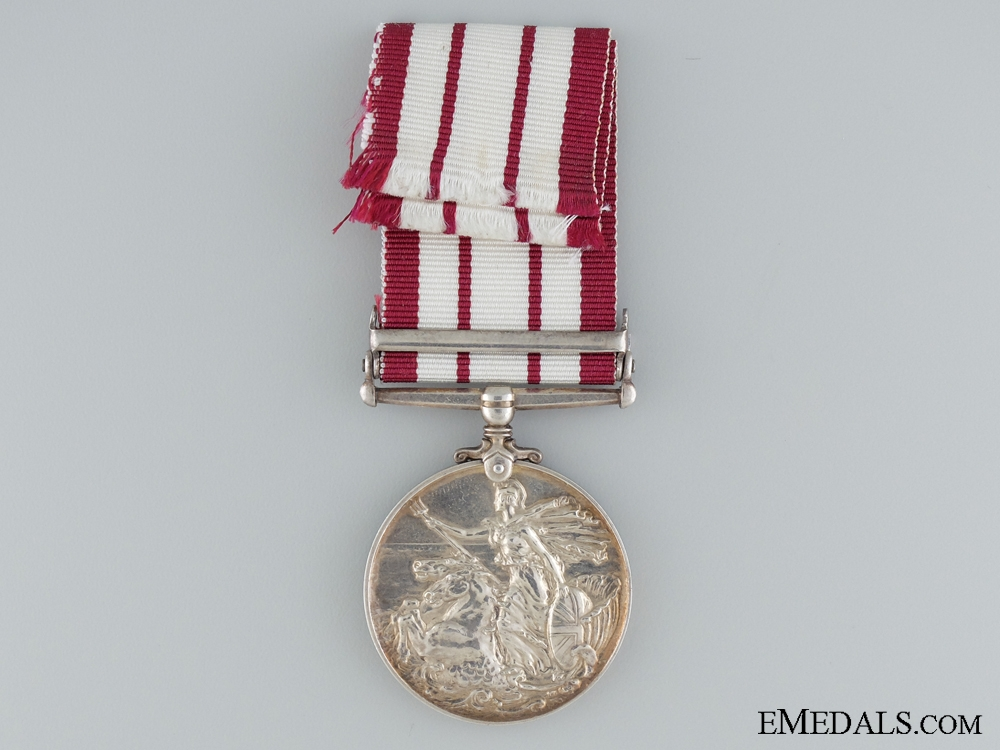 Naval General Service Medal to the Royal Marines