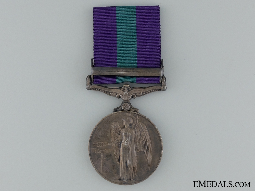 1918-62 General Service Medal to the Loyals