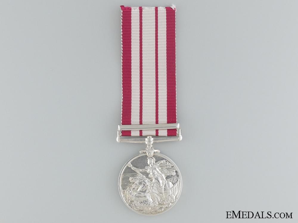 Naval General Service Medal to Leading Stoker on HMS Proserpine