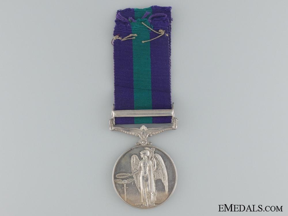 1918-62 General Service Medal to F.SGT. J. Macrea