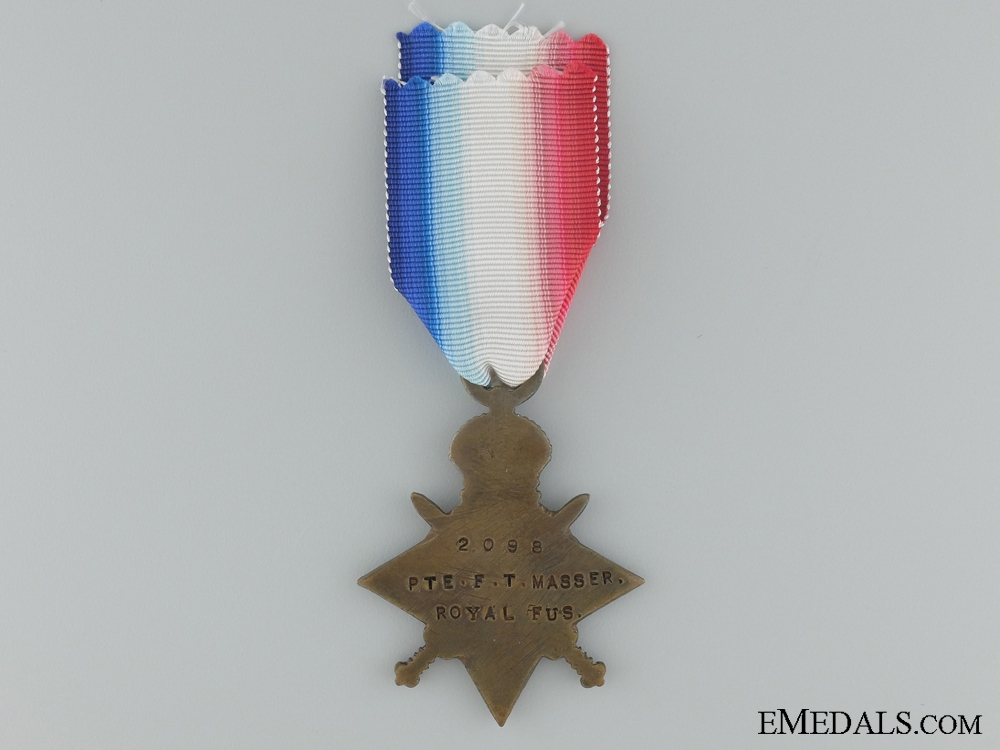 1914-15 Star to the Royal Fusiliers