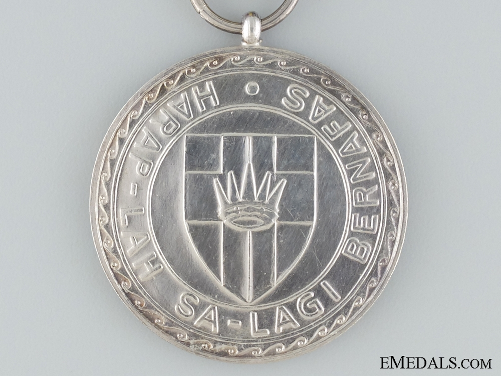 A Faithful and Meritorious Service Medal of Sarawak