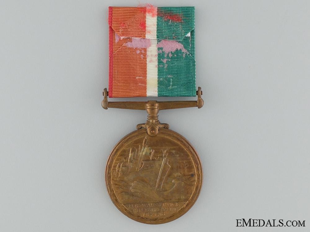 1914-1918 Mercantile Marine War Medal to Thomas J. Rowlands