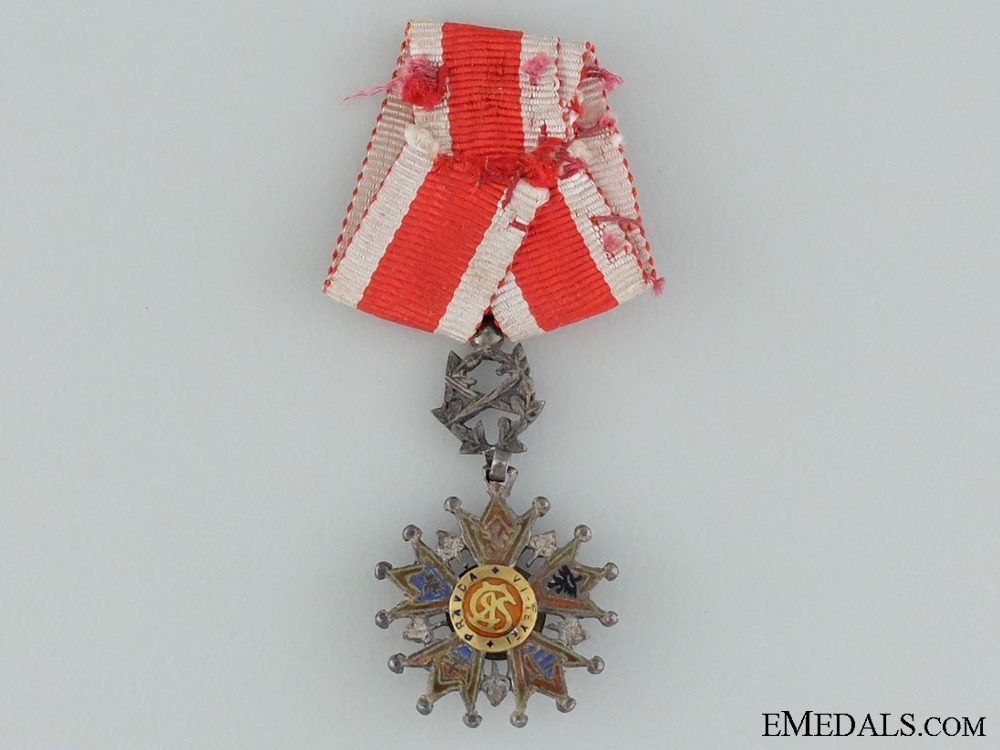 A Miniature Czech Order of the White Lion