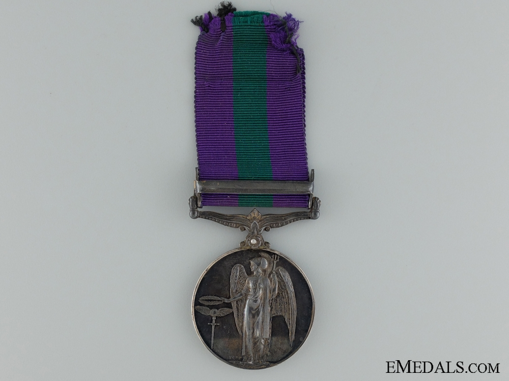 1918-62 General Service Medal to the Royal Air Force