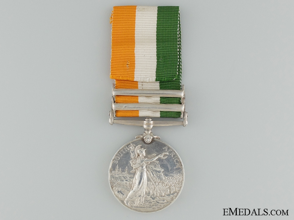 1901-02 King's South Africa Medal to the Royal Scots