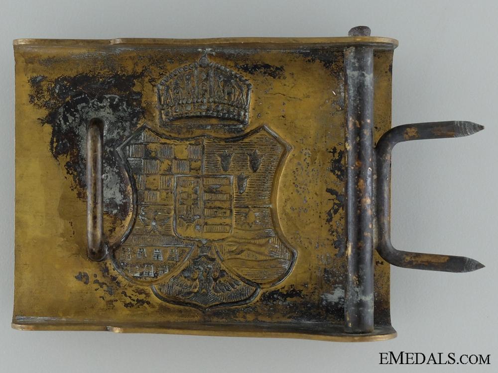 A WWI Hungarian EM/NCOs Belt Buckle