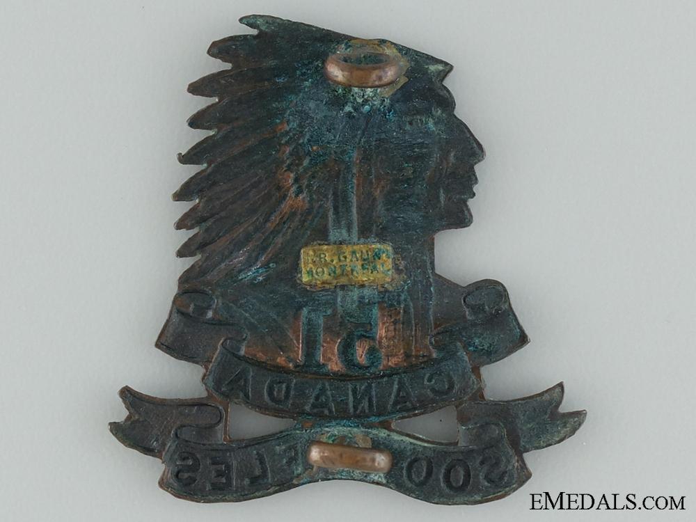 51ST Soo Rifles Militia Cap Badge by Gaunt