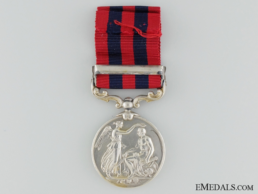A 1854-95 Indian General Service Medal to 2nd Battalion, Devon Regiment