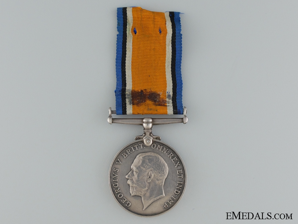 A British 1914-18 War Medal to the 22nd Regiment CEF