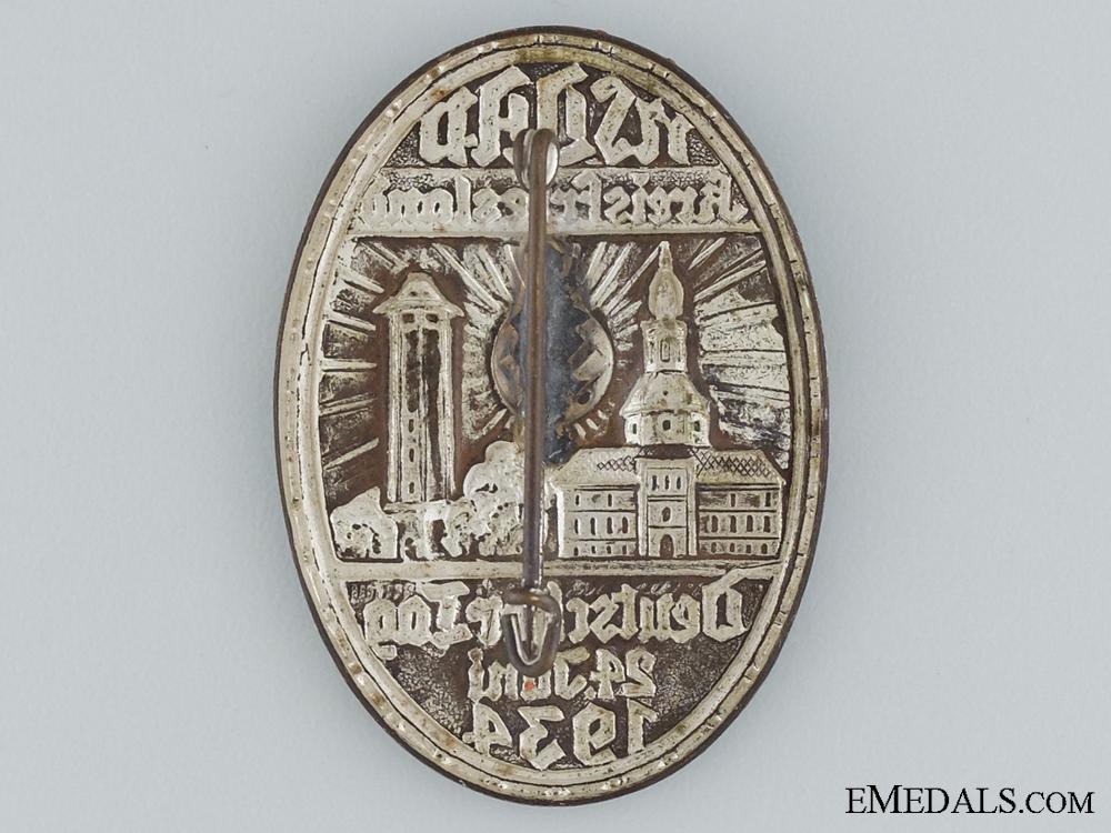1934 NSDAP Kreisfriesland Tinnie