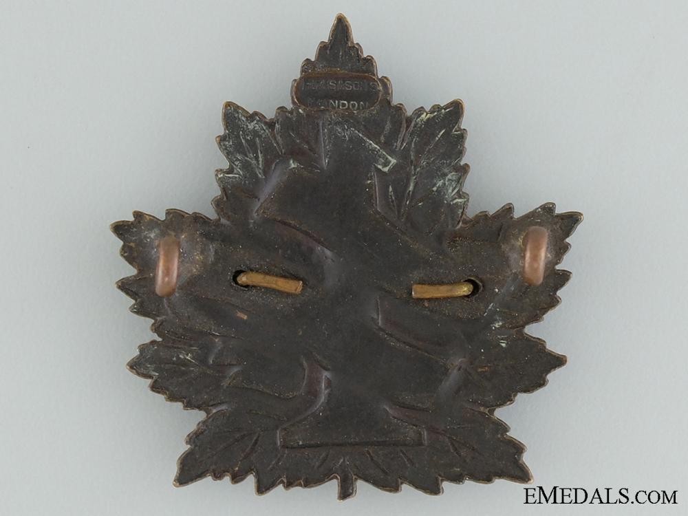 """7th Battalion """"1st British Columbia"""" Cap Badge CEF"""