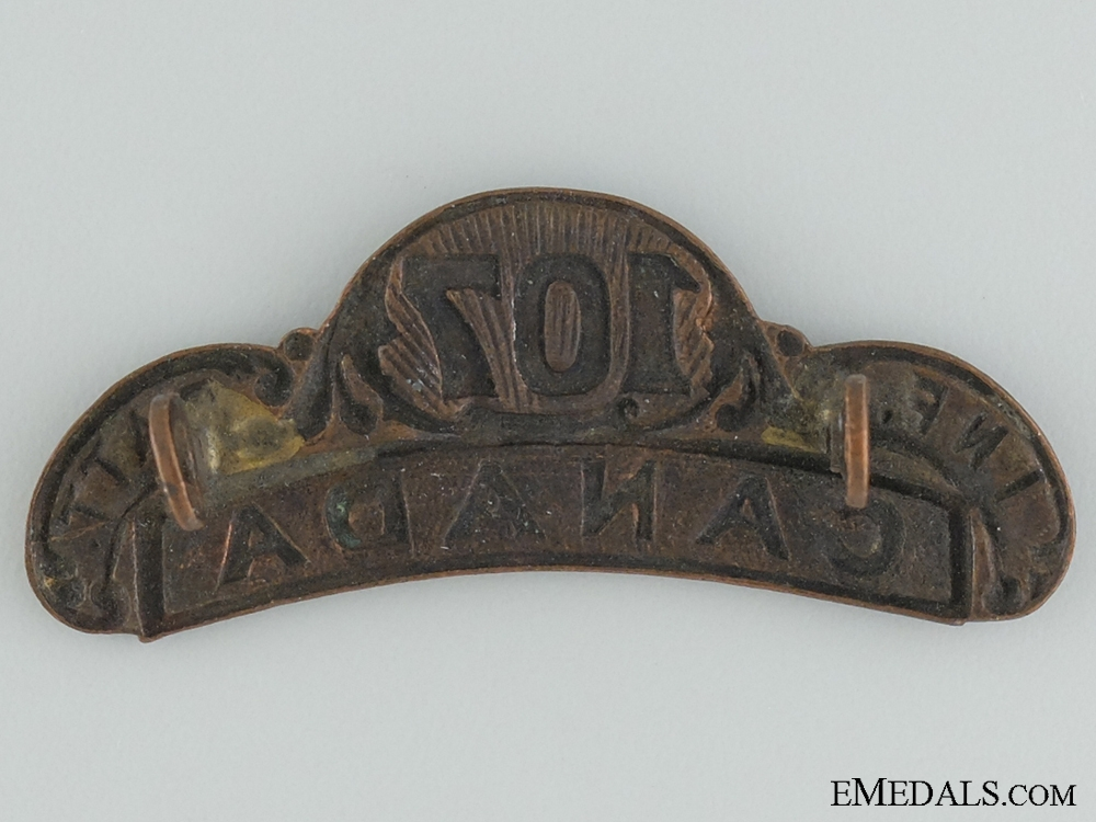 WWI 107th Infantry Battalion Shoulder Title CEF