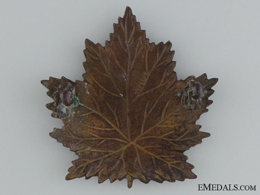 WWI 2nd Infantry Battalion Cap Badge; 1st Version