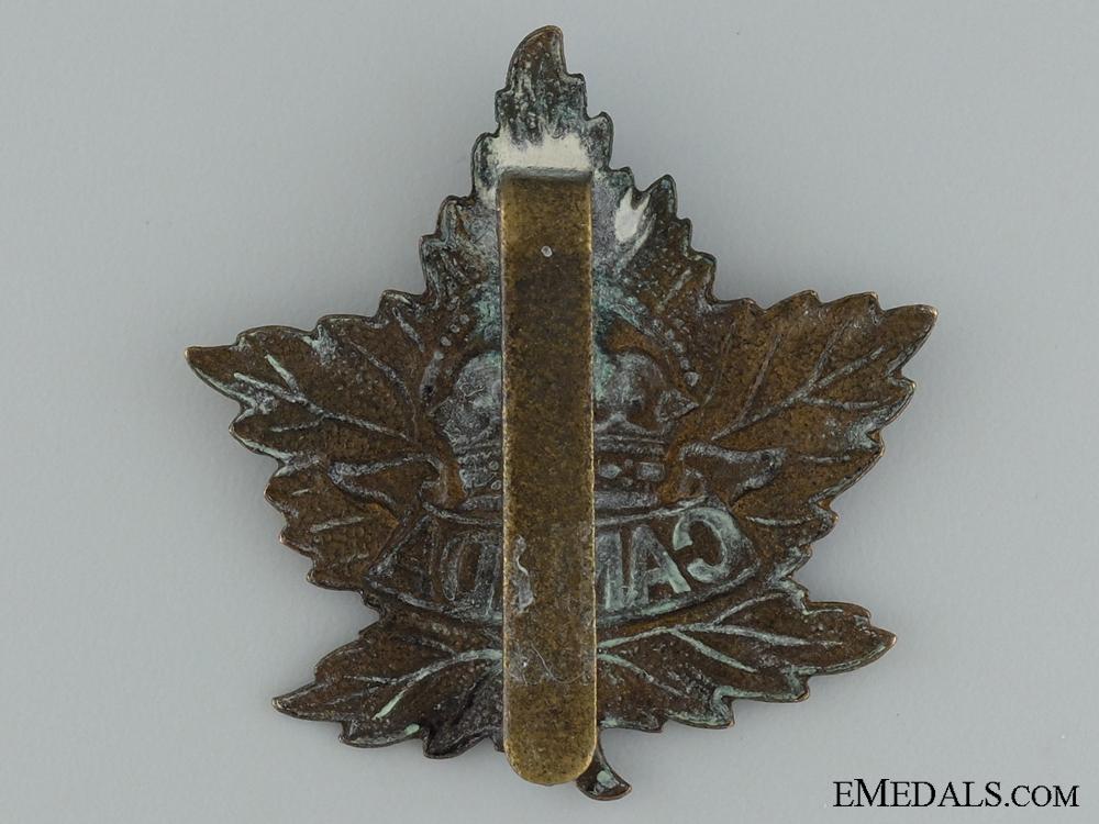 WWI Canada General Service Cap Badge CEF