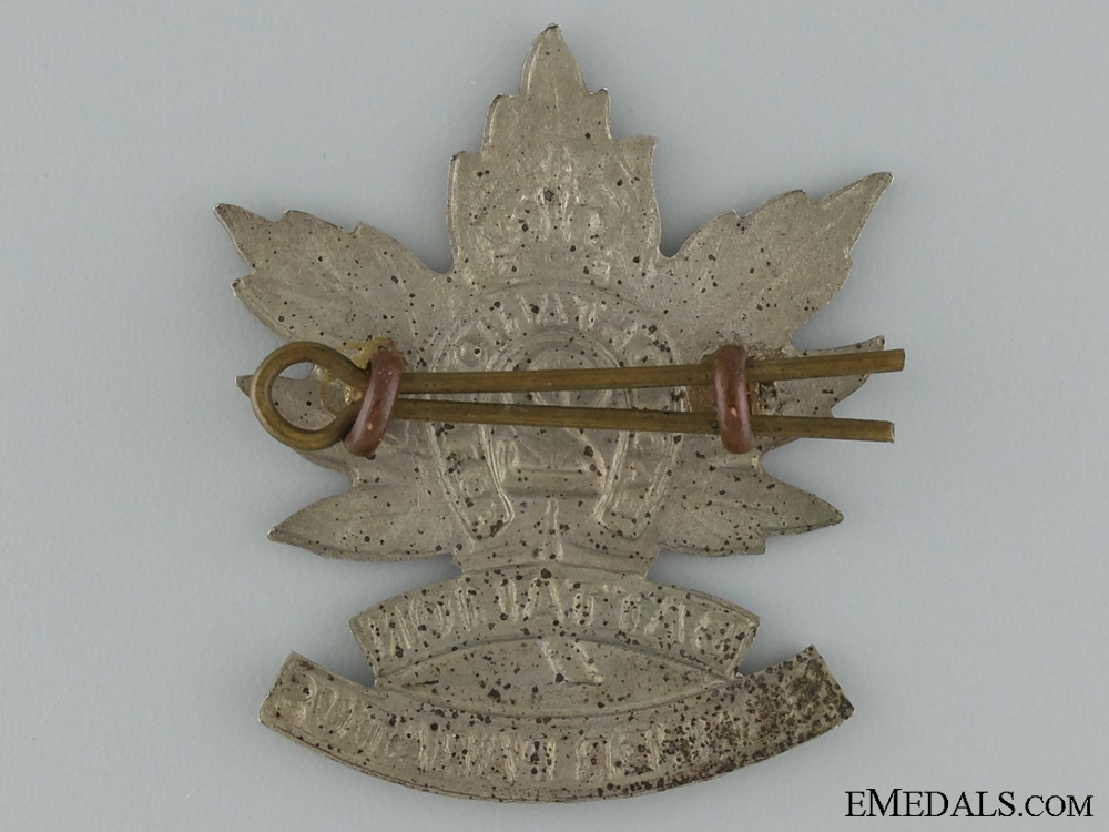 WWI 2nd Infantry Battalion Cap Badge CEF; 3rd Version