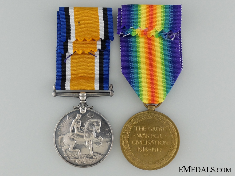 A First War Canadian Pair to the 69th Infantry Battalion CEF