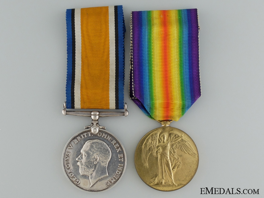 A First War Canadian Pair to the 78th Infantry Battalion