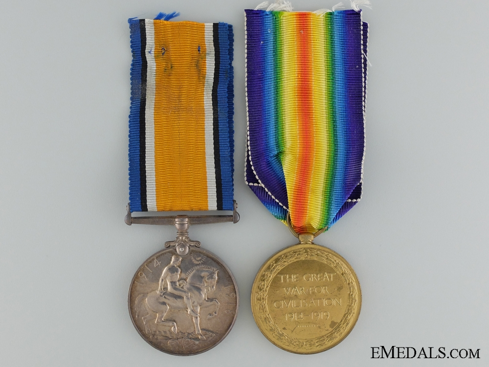 A First War Canadian Pair to the 60th Infantry Battalion CEF