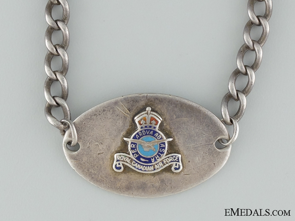 WWII Royal Canadian Air Force (RCAF) ID Tag