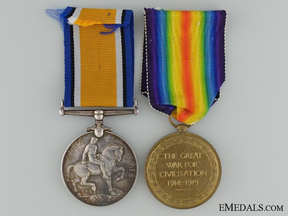 A First War Pair to Air Mechanic P.S.S. Dewick Royal Air Force
