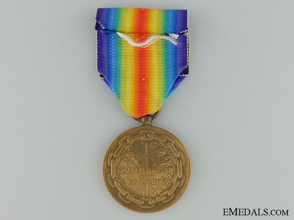 A WWI Romanian Victory Medal