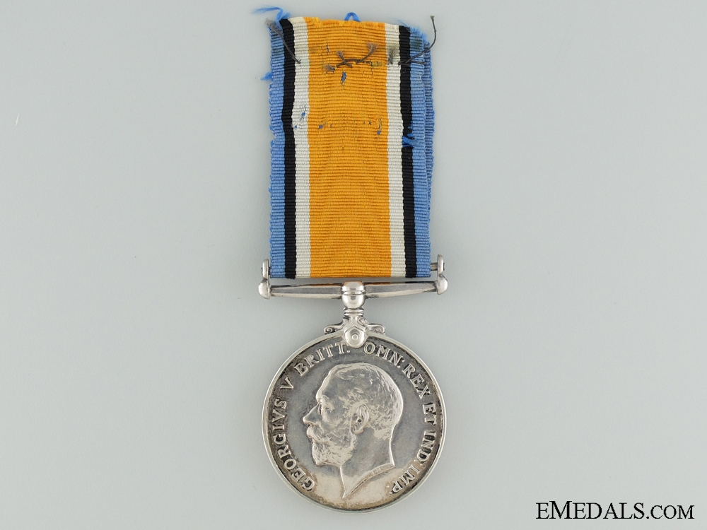 A British War Medal to the Quebec Regiment CEF
