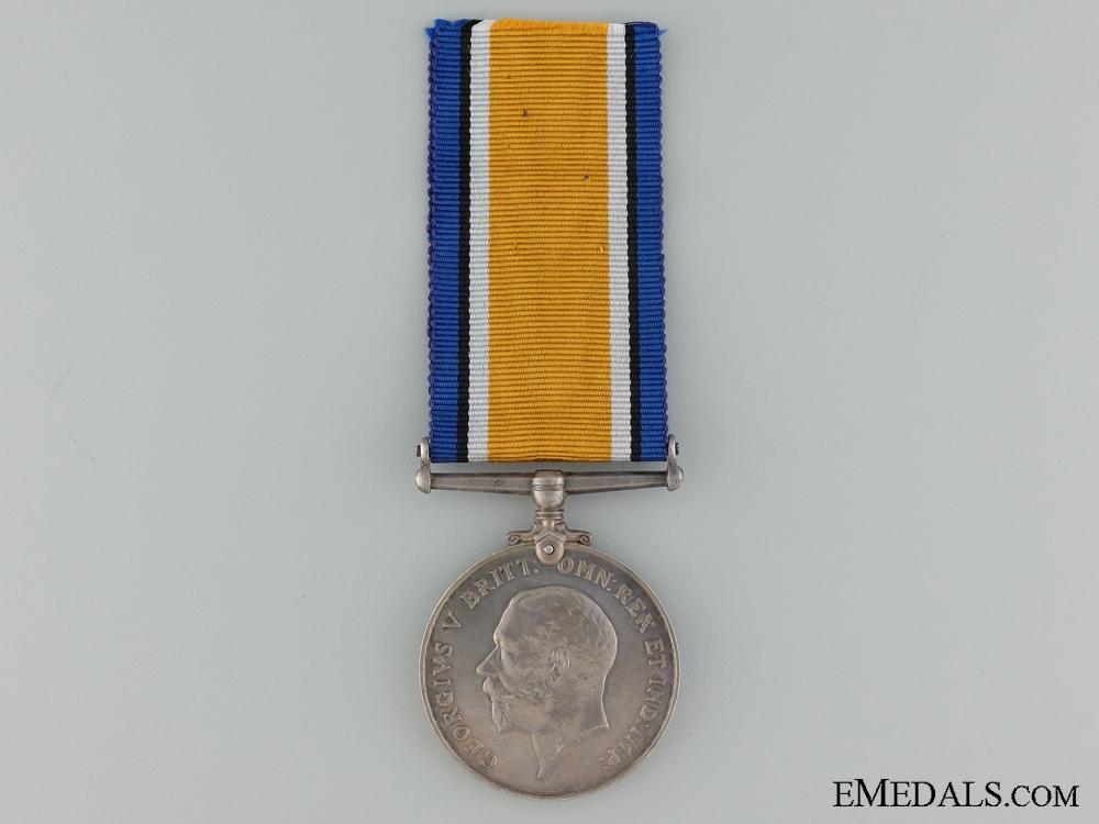 A British War Medal to the Canadian Machine Gun Brigade CEF