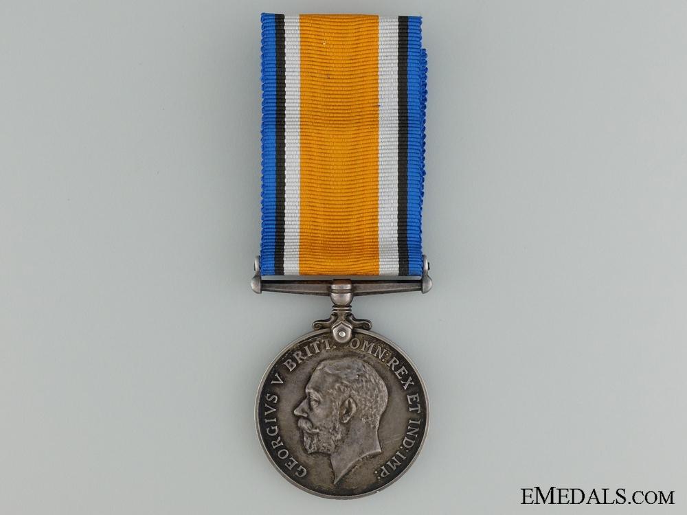 British War Medal to Native Canadian; British Columbia Regiment