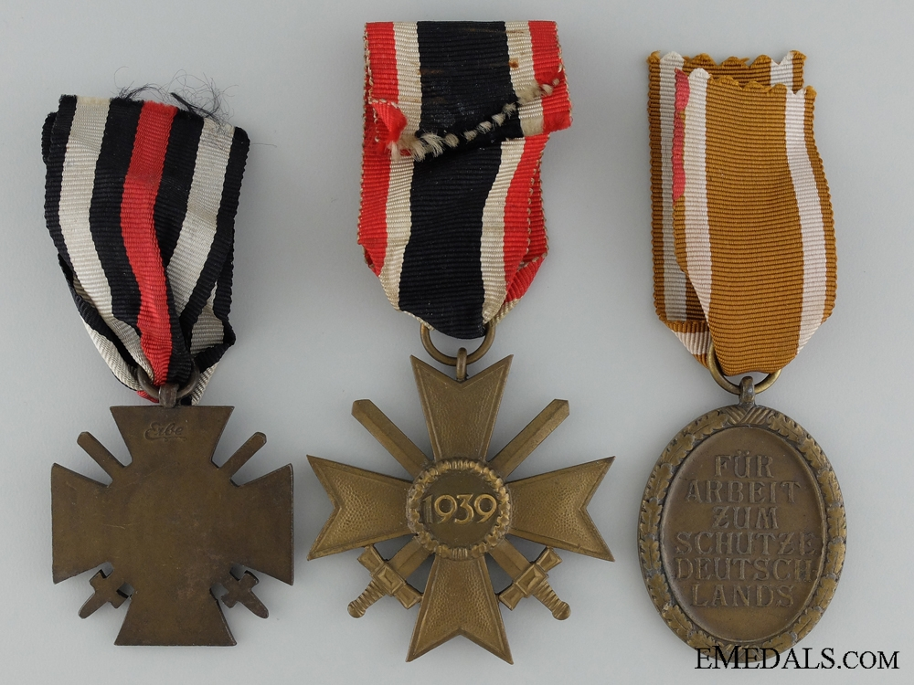 Three Second War German Awards