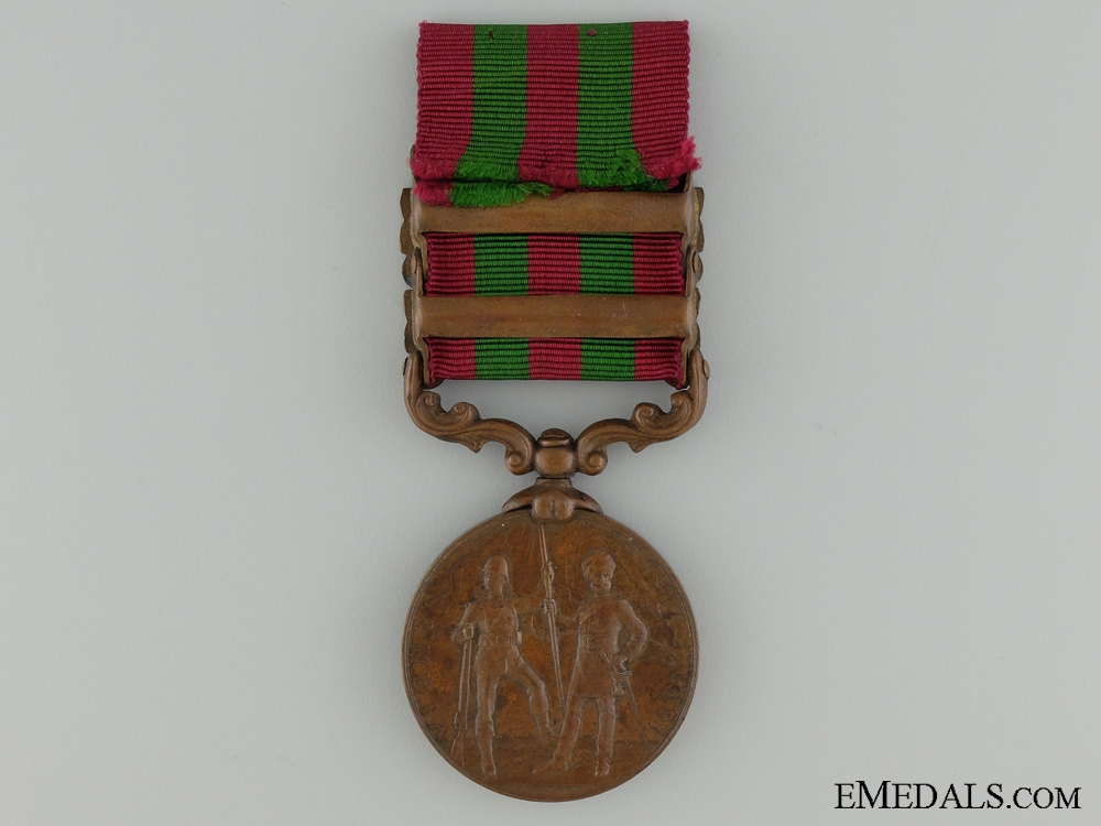 A 1895-1905 India Medal; Bronze Issue