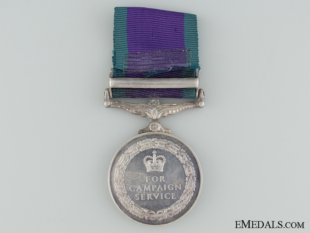 A 1962-2007 General Service Medal