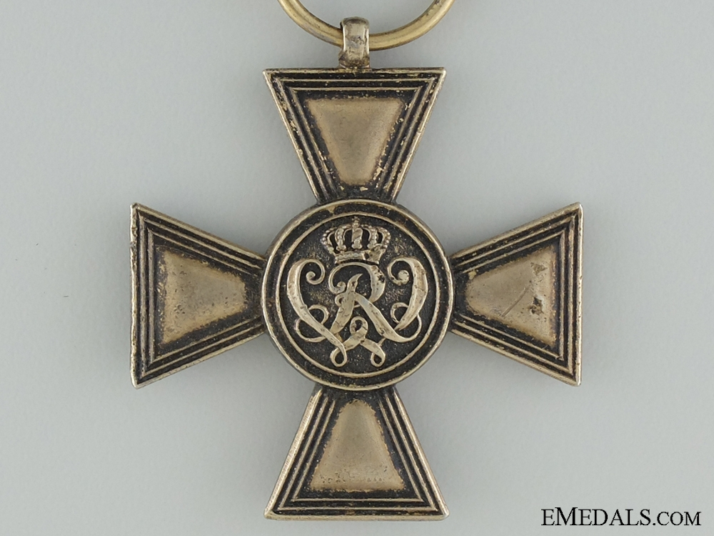 A First War Golden Military Merit Cross by Wagner